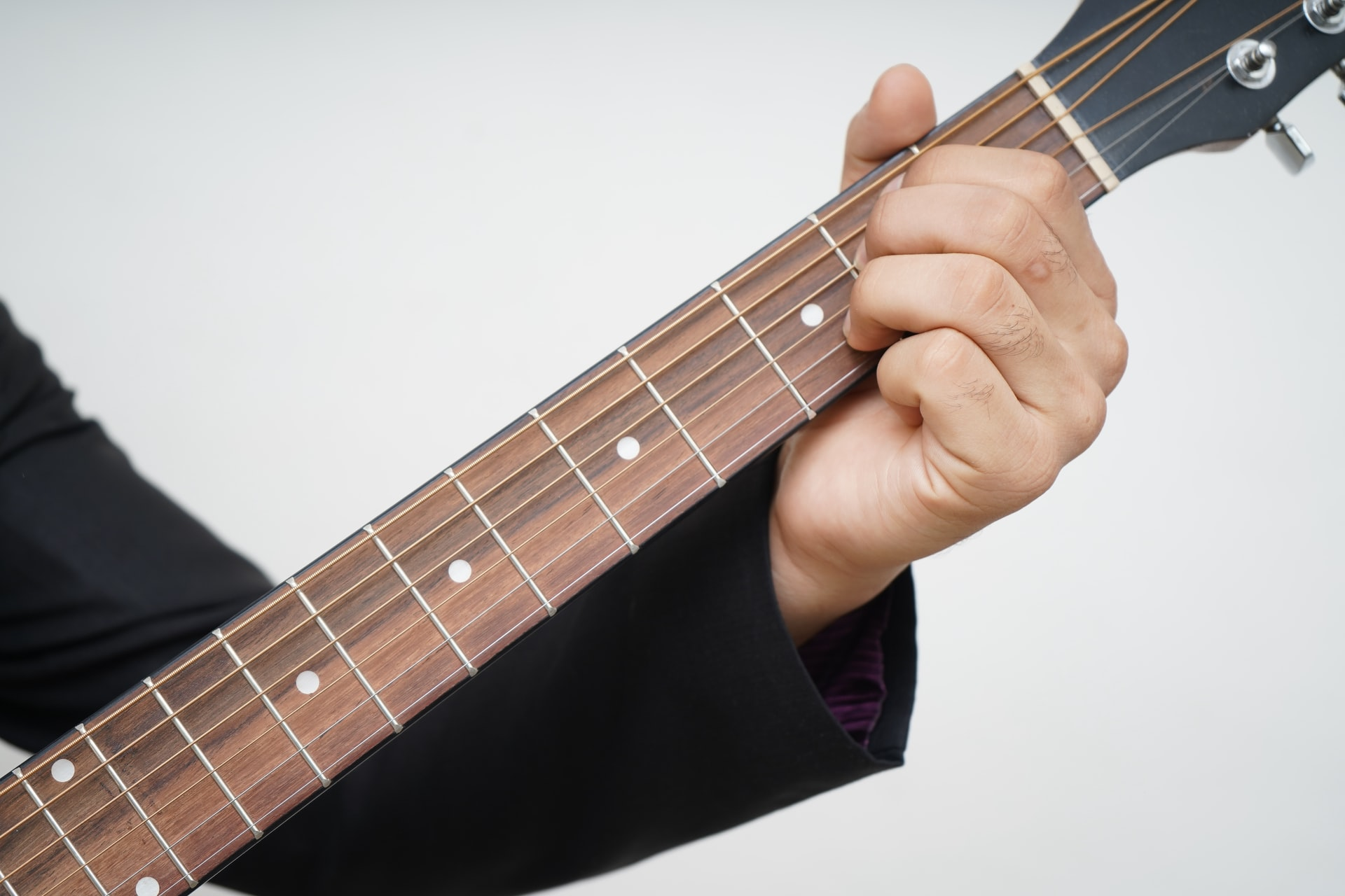 Rock Guitar Chords – Uses Open and Closed Power Chords